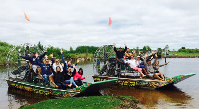 Airboat Tour Ramp Locations in Melbourne, Florida - Airboat Rides