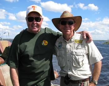 Capt Mike with Bill Dance
